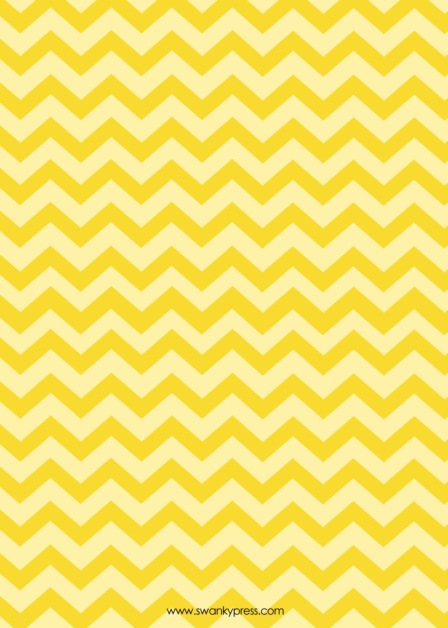 yellow chevron wallpaper