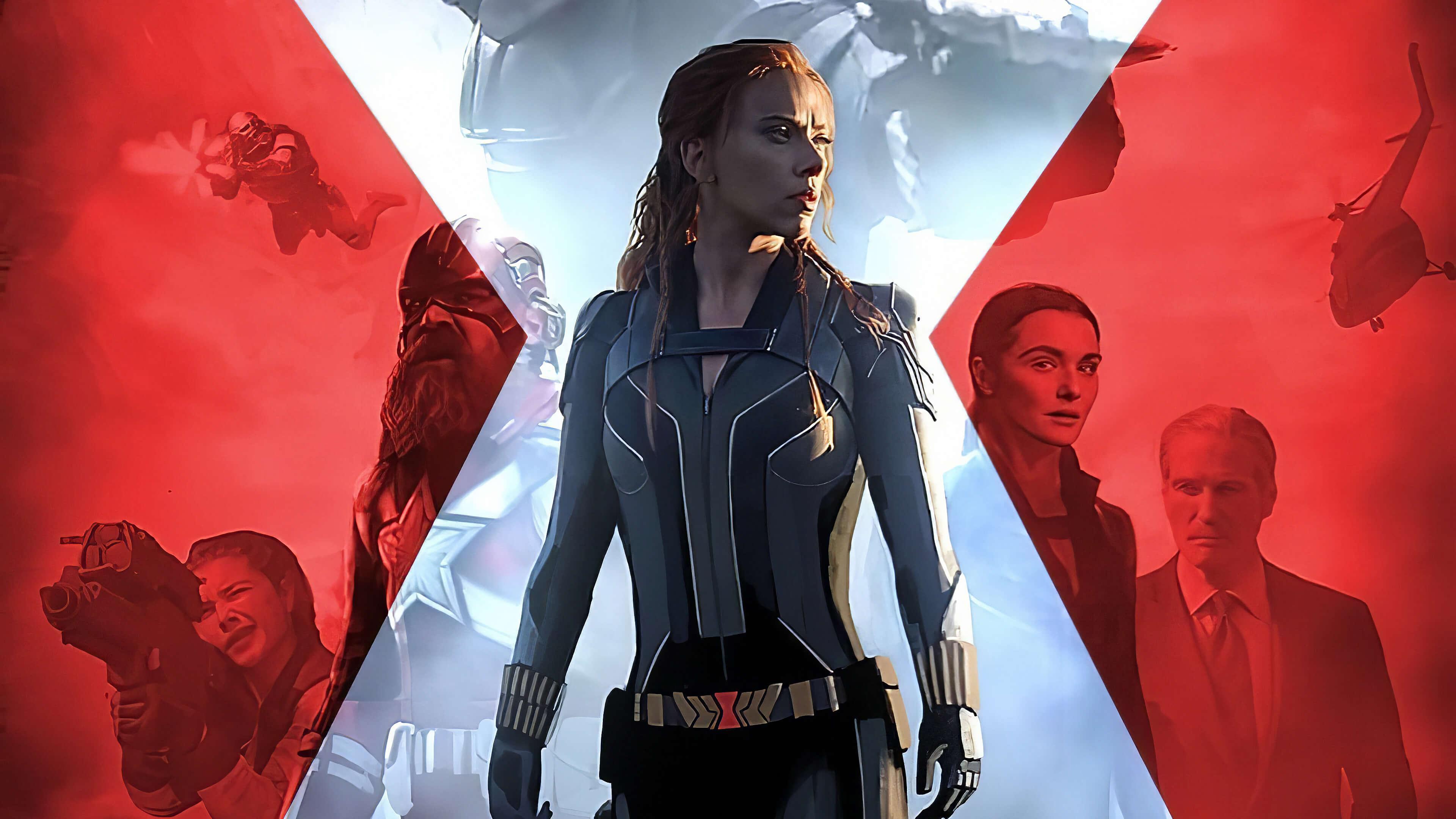 Black Widow 2021 Wallpaper 4K Xoombs Media 3840x2160