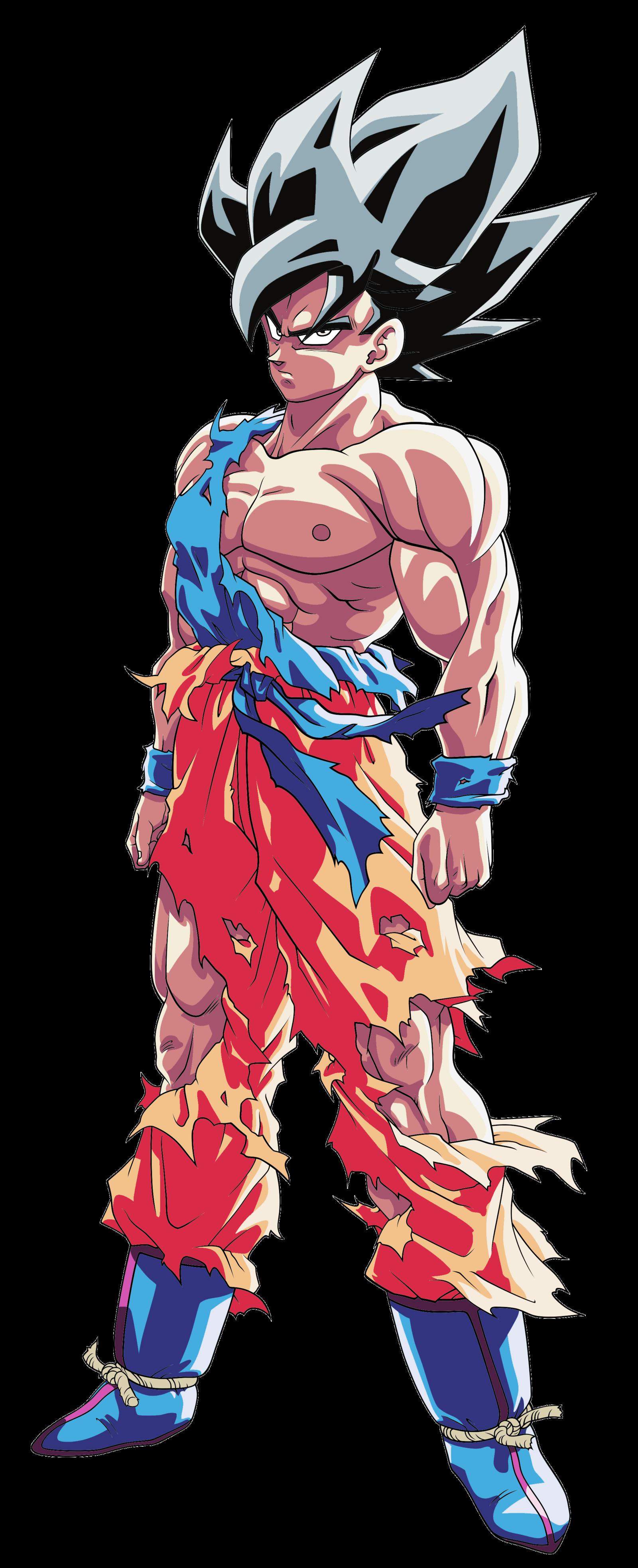 90+ Goku Ultra Instinct Mastered Wallpapers on WallpaperSafari
