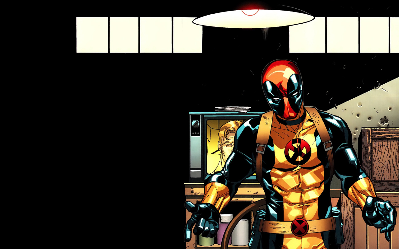 X Men Deadpool Wallpaper and Background Image 1280x800 ID 1280x800
