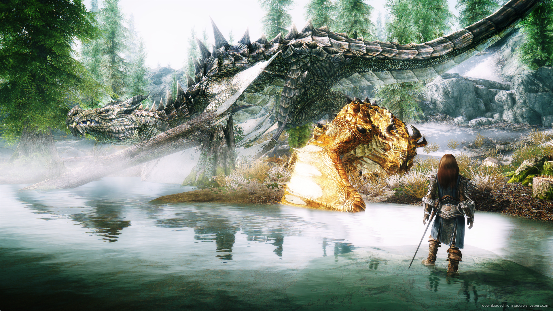 1920x1080 Wallpaper: Skyrim Wallpaper 1920x1080