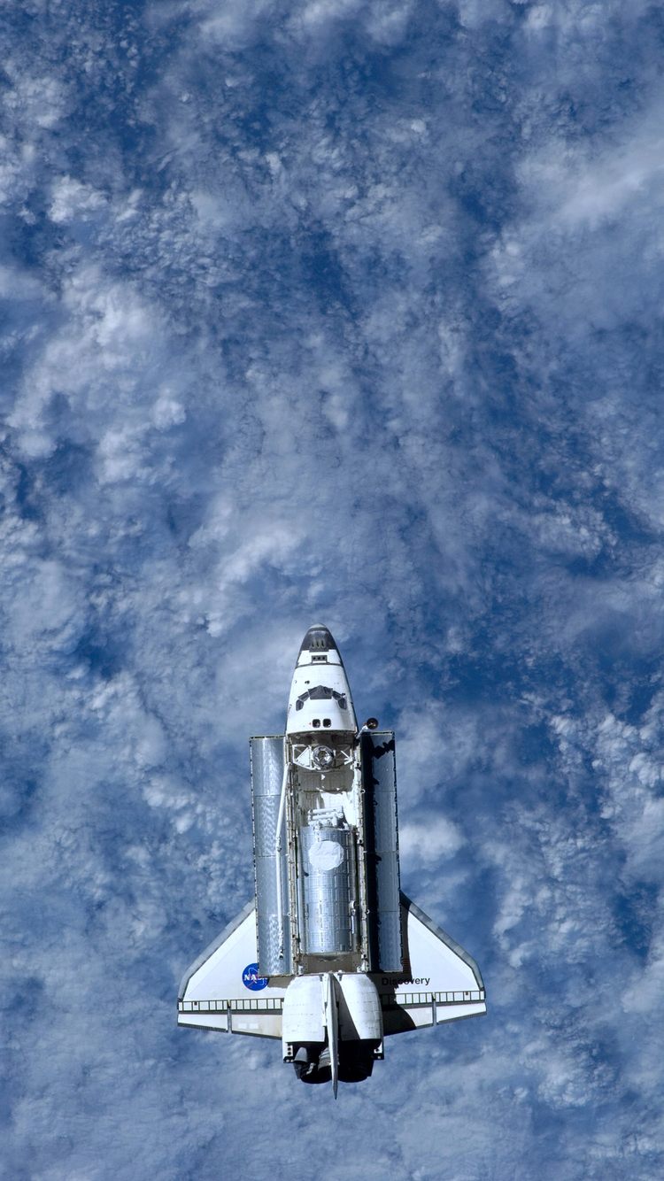 NASA Space Shuttle iPhone Wallpaper HD 750x1334