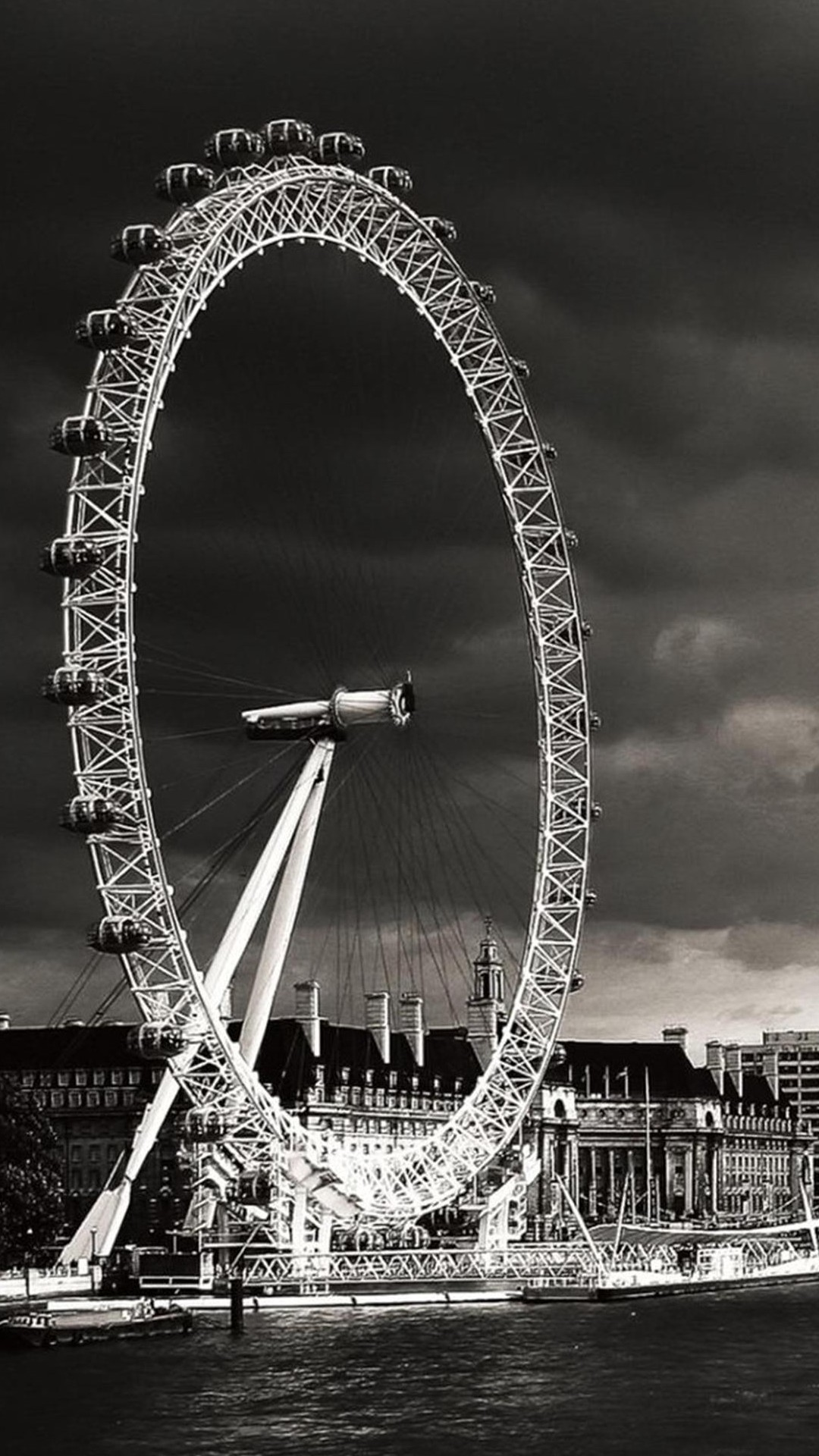 Black and White London...