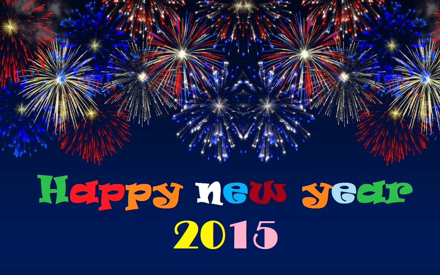 Happy New Year 2015 Image HD For Desktop 899300   Ongur 1440x900