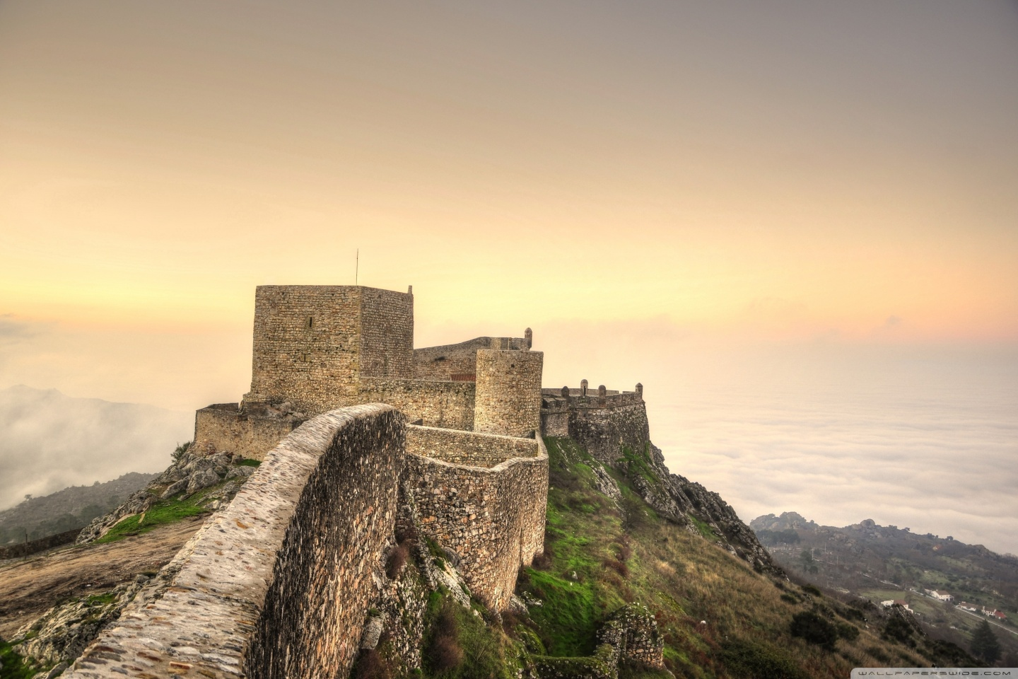Fortress 4K HD Desktop Wallpaper for 4K Ultra HD TV Wide 1440x960