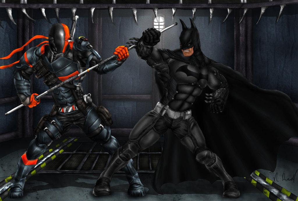 Batman Arkham Origins Deathstroke Fanart by Tycony23 1024x691