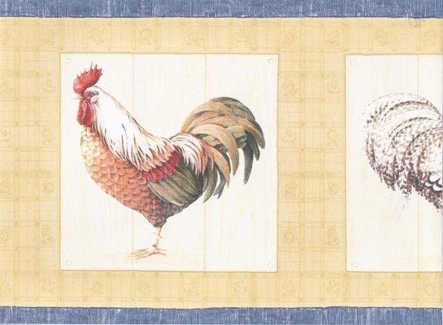 Country Rooster Wallpaper Wallpapersafari