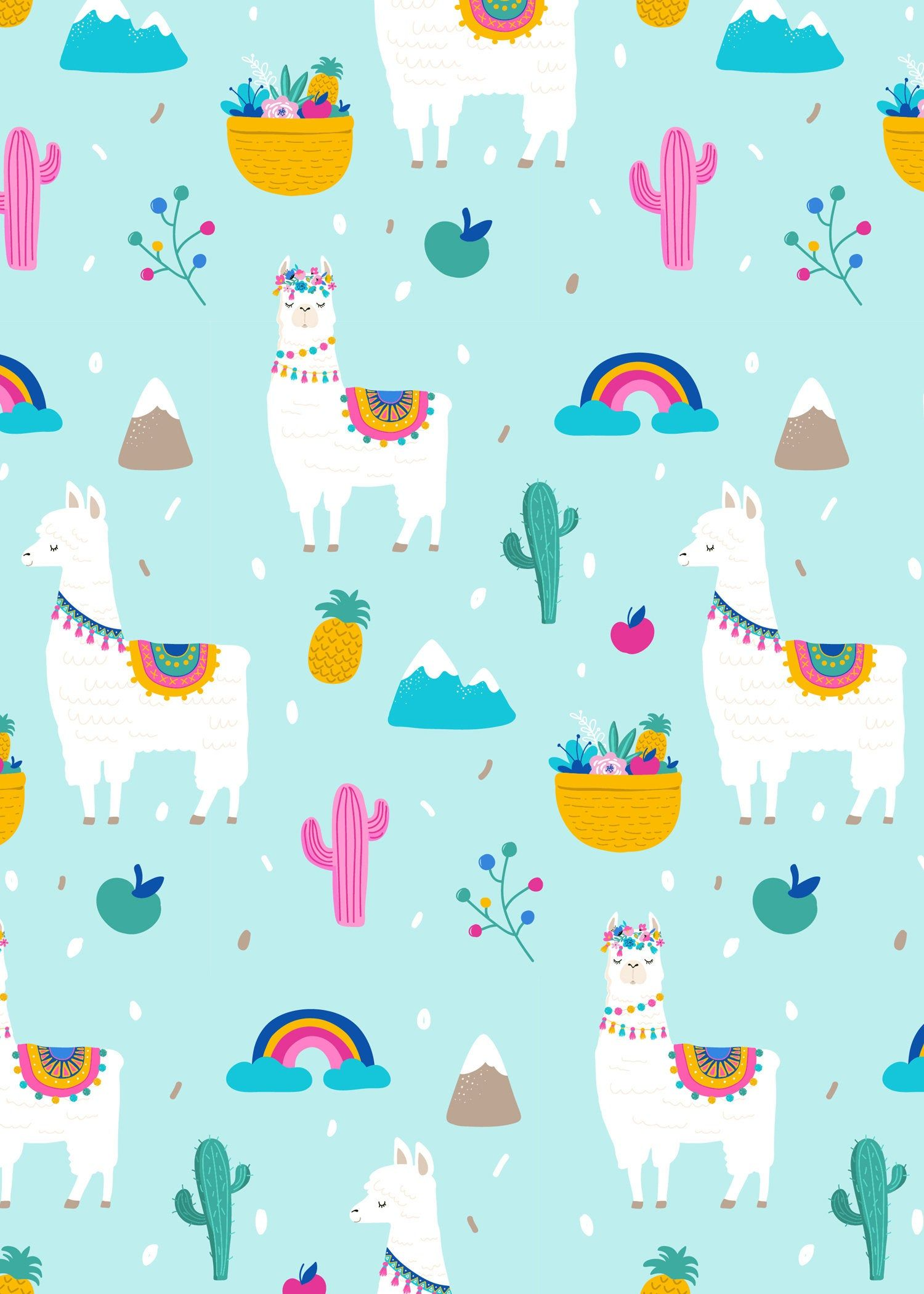 Llama birthday invitation A Whole Llama Fun llama Party Etsy in 1500x2100