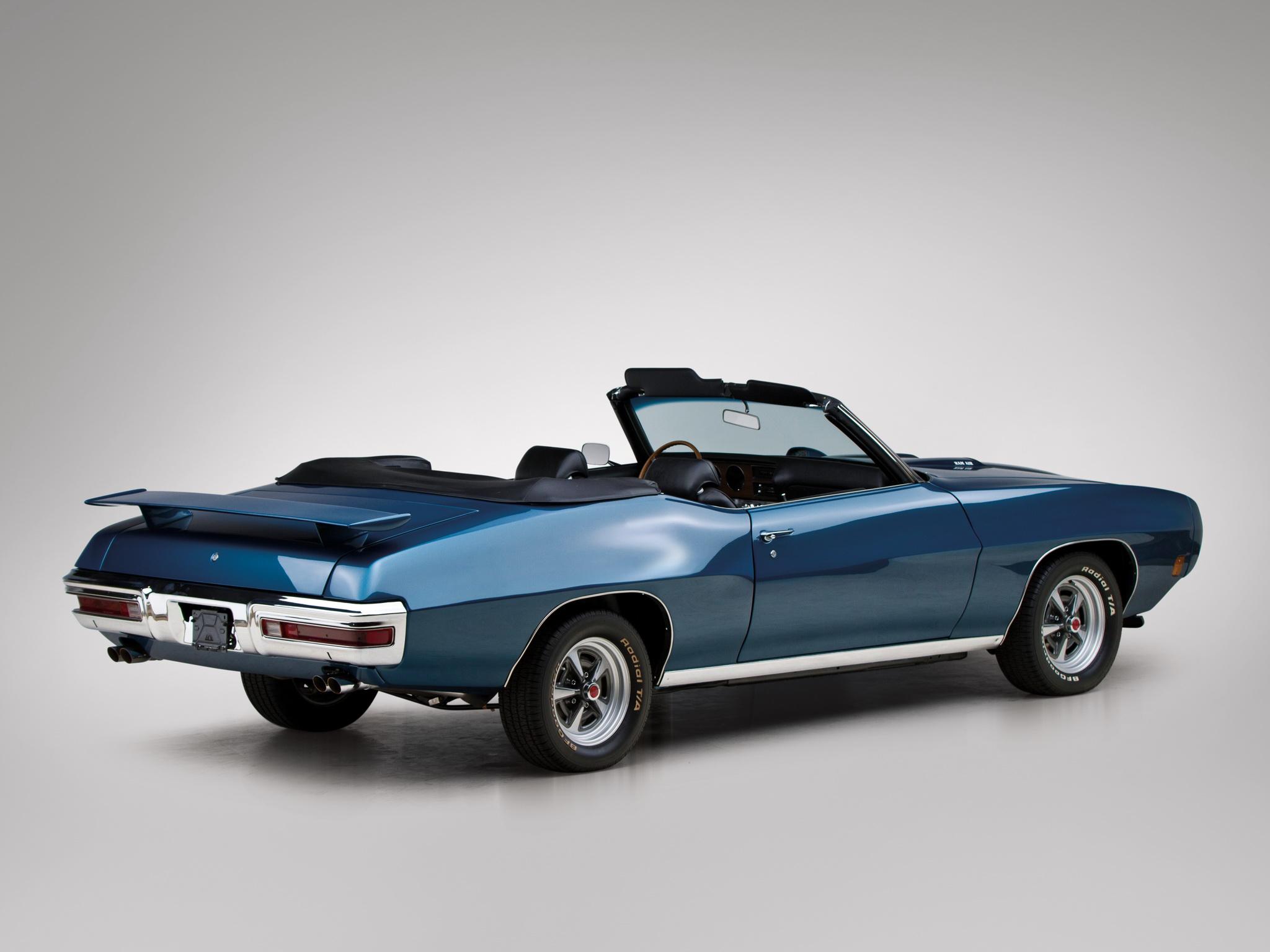1970 Pontiac GTO Convertible 4267 muscle classic gg wallpaper 2048x1536