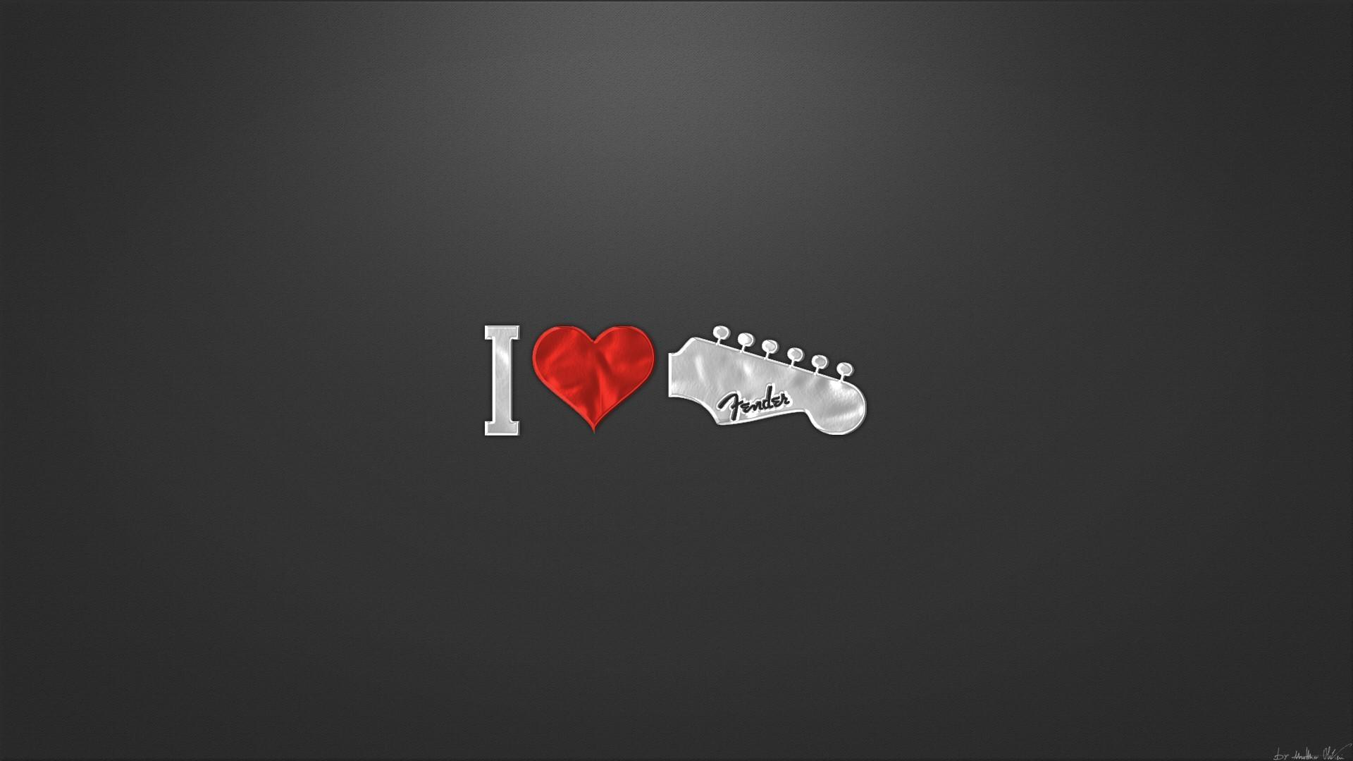 Fender Wallpaper High Resolution Pictures 1920x1080