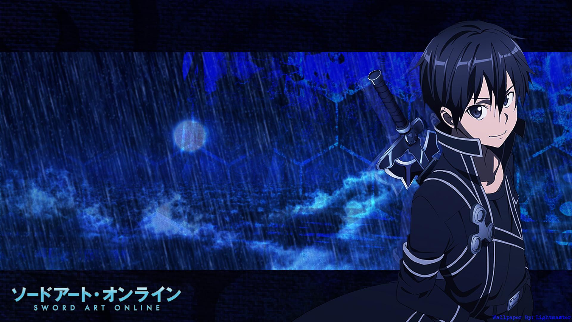 Sword Art Online Kirito Sao Source HD Wallpapers WallpaperSafari
