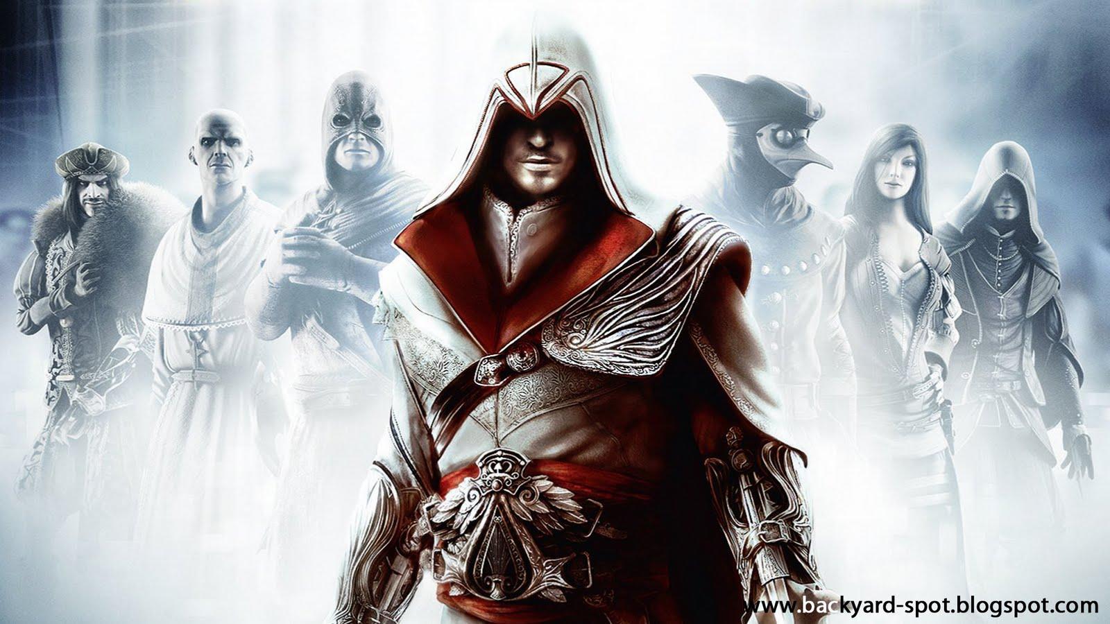 Assassins Creed Brotherhood Wallpaper HD 108 10815 Wallpaper Game 1600x900
