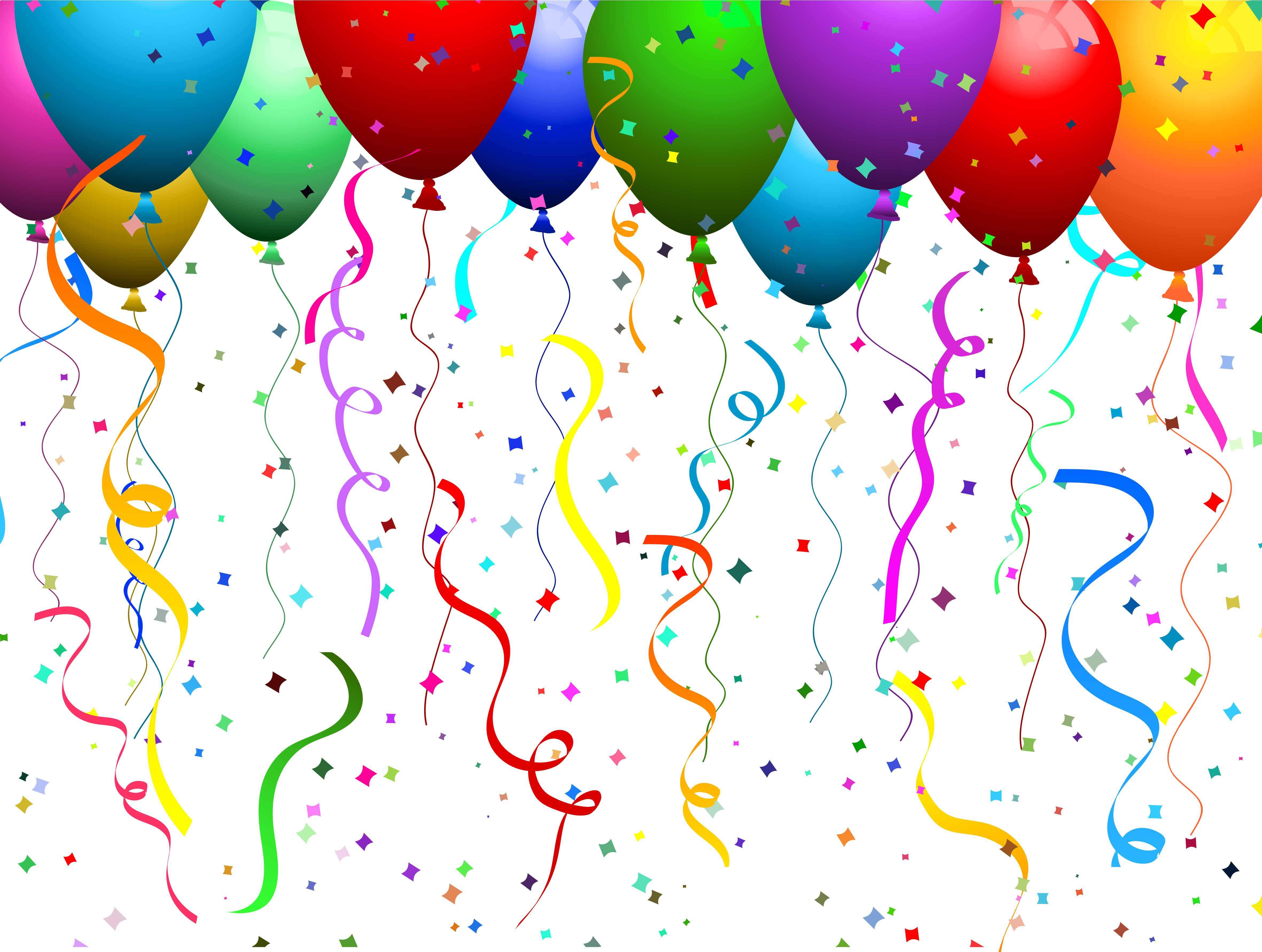 Birthday Balloons Wallpaper 4724x3563