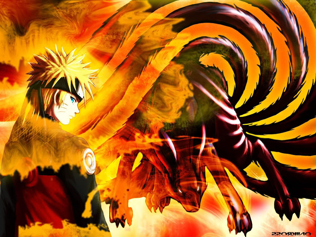 Uzumaki And Kyuubi Wallpaper 1023x767 pixel Anime HD Wallpaper 1023x767