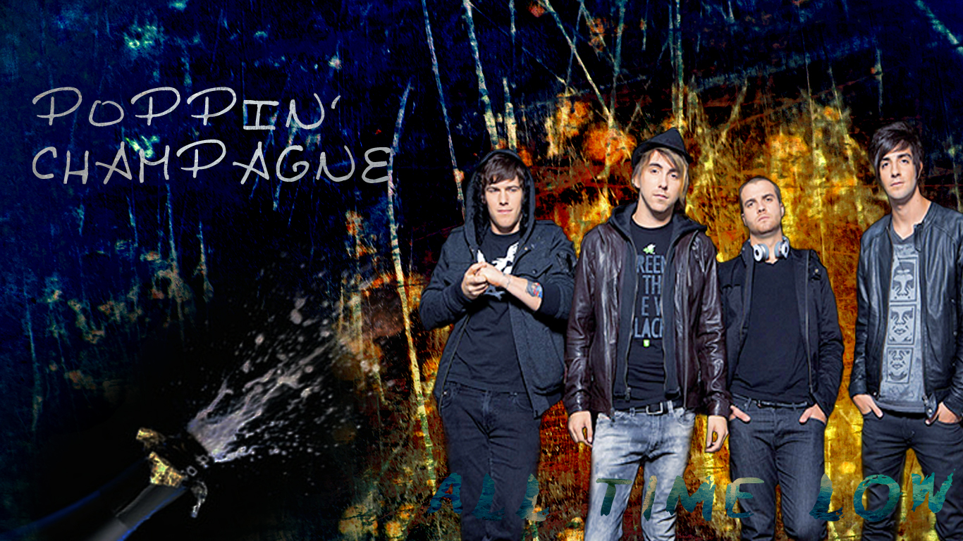 All Time Low Wallpaper by JuuJuhu on deviantART 1366x768