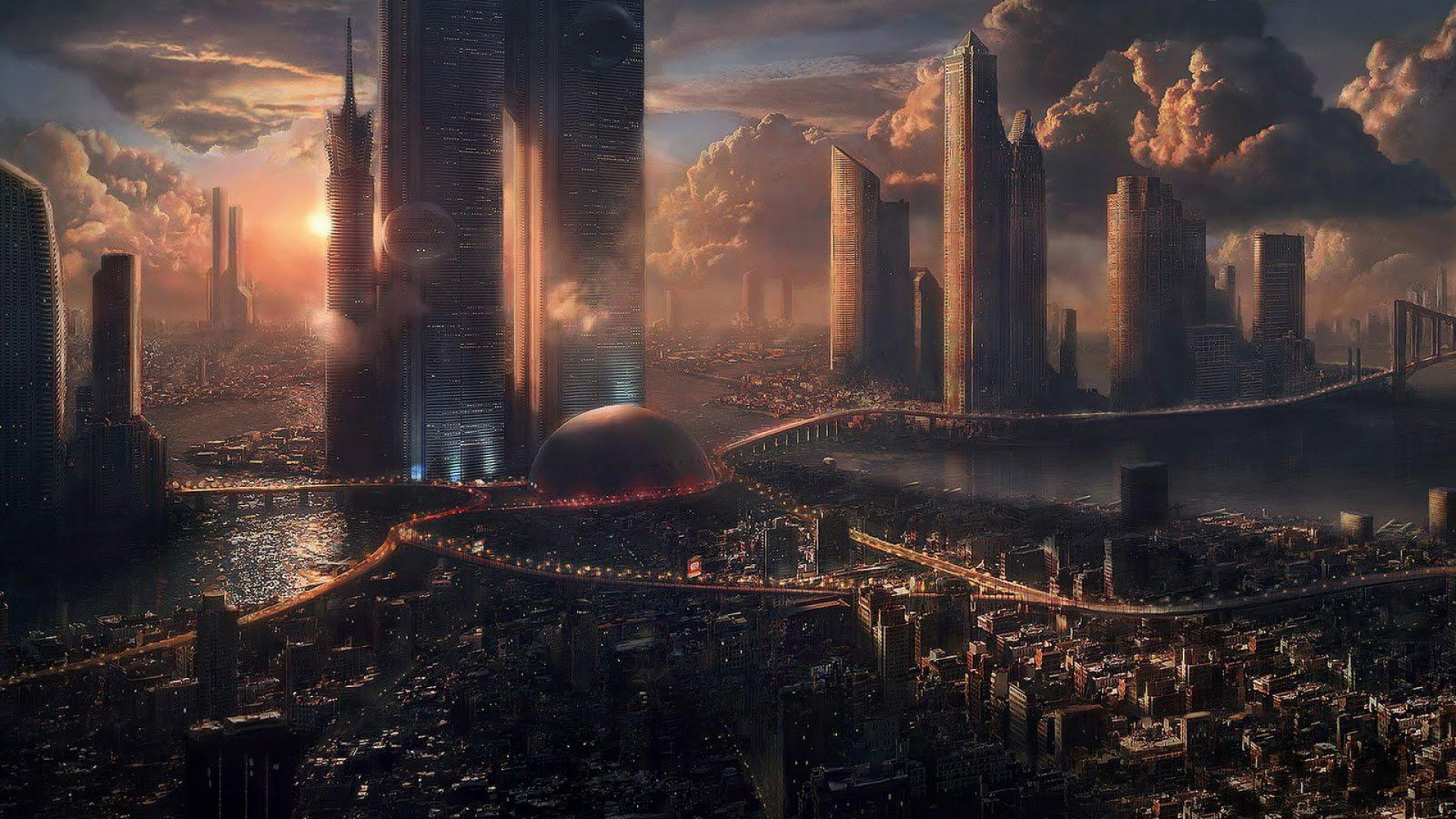 Fantasy City Wallpaper Hd: Fantasy Art Wallpapers HD