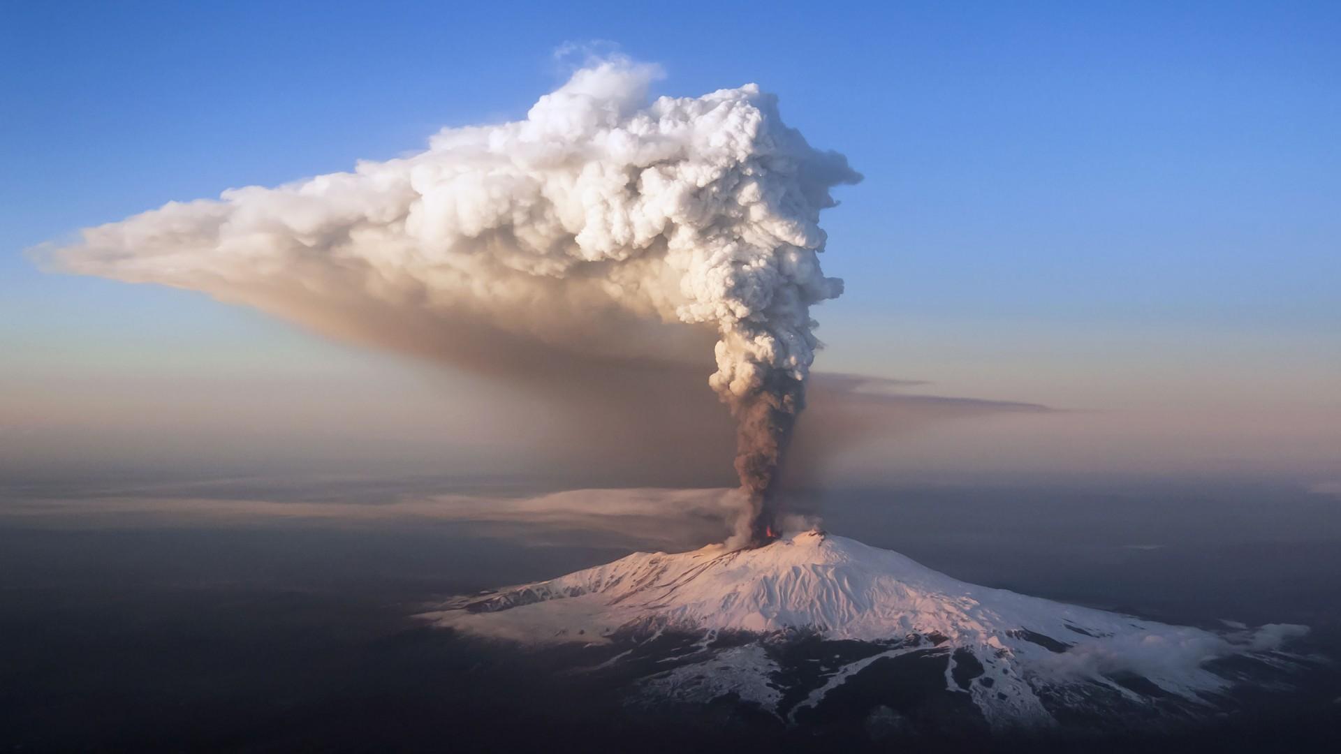 Volcano Eruption wallpaper 1920x1080 136979 WallpaperUP 1920x1080