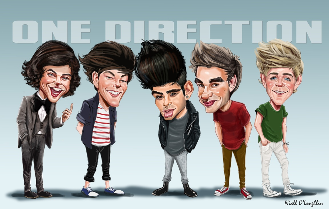 Download One Direction Caricature Wallpaper HD is a hi res Wallpaper 1152x732