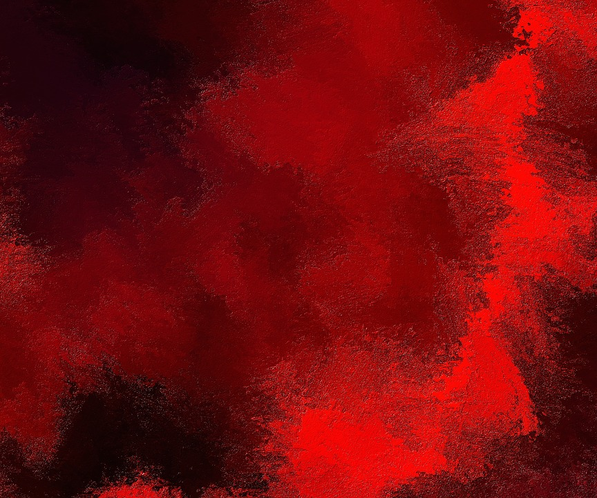 photo Abstract Painted Background Painting Red Texture   Max 864x720
