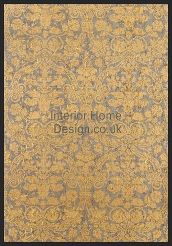 Thibaut Wallpaper Damask Resource   Curtis Damask T7601 Cork 350x500