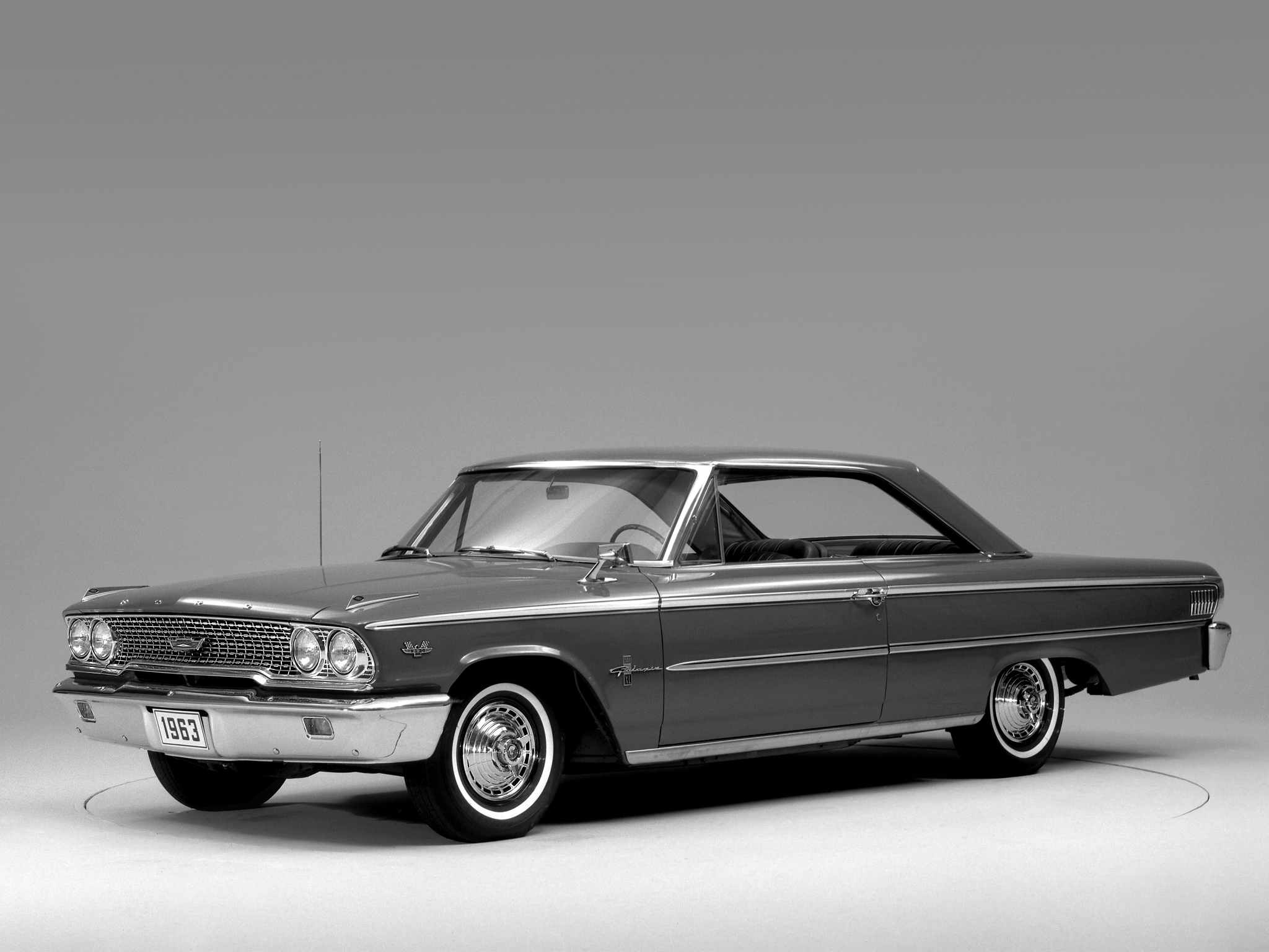 1963 ford galaxie 500 x l hardtop coupe classic wallpaper background