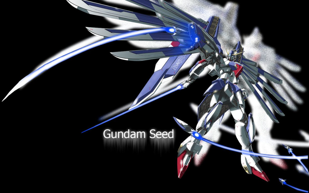 Gundam Seed Wallpaper Black Background photos Gundam Wallpaper HD On 1300x813