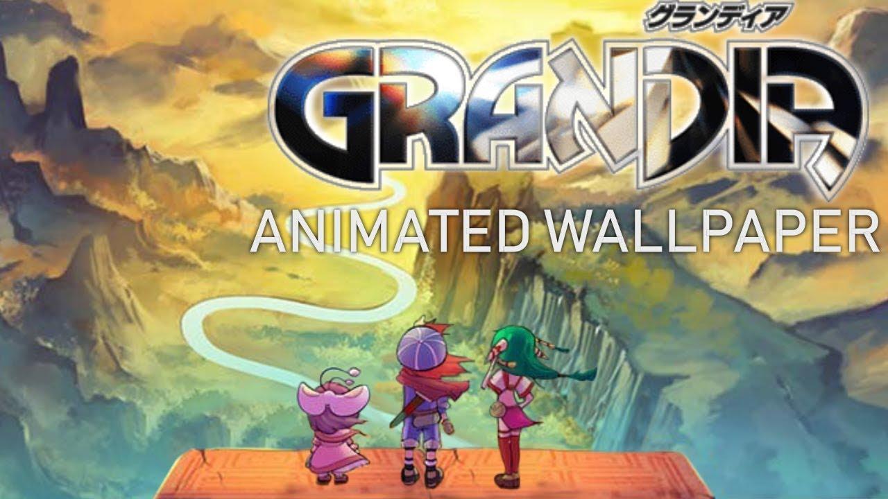 The Edge of the World   Grandia Animated Wallpaper 1280x720
