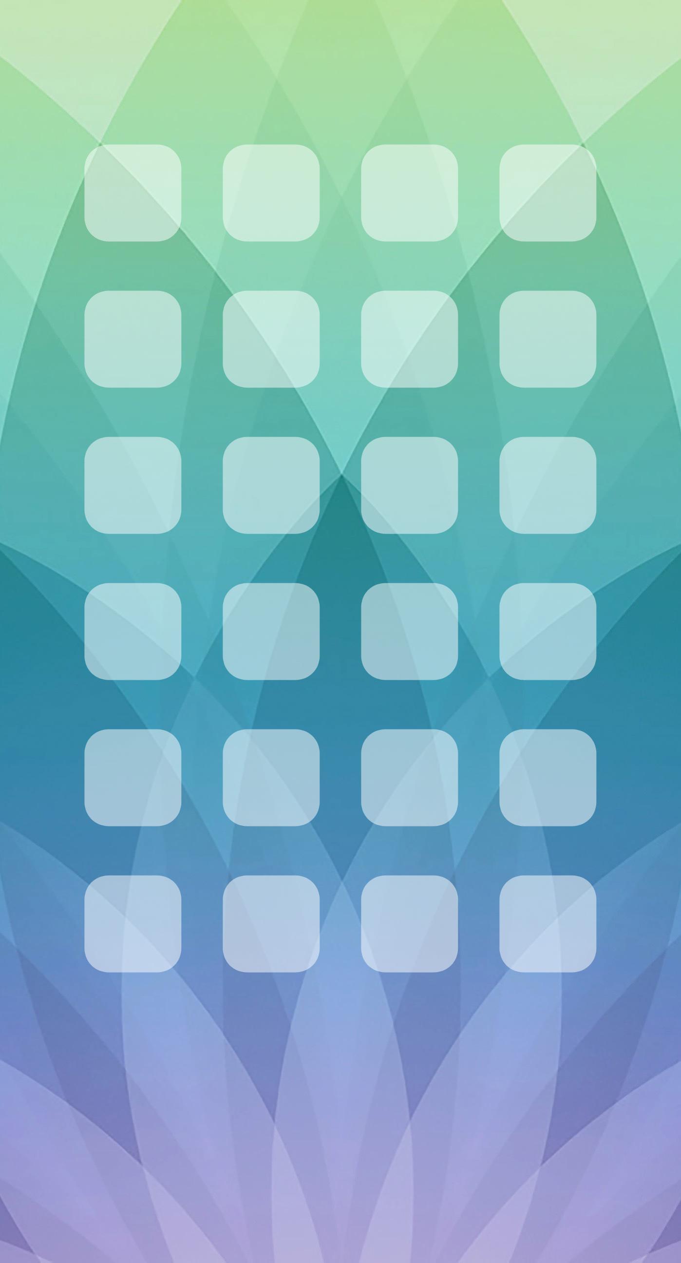Pattern Apple events green blue purple shelf wallpapersc 1398x2592