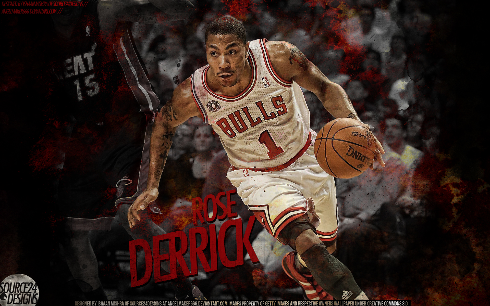 Derrick Rose MVP Wallpaper by IshaanMishra 1920x1200