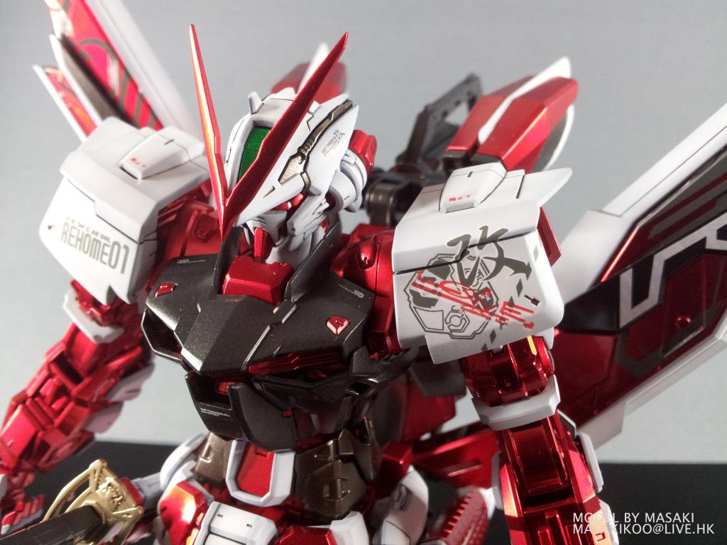 MG 1100 Gundam Astray Red Frame Modeled by MASAKI Photoreview 1024x768