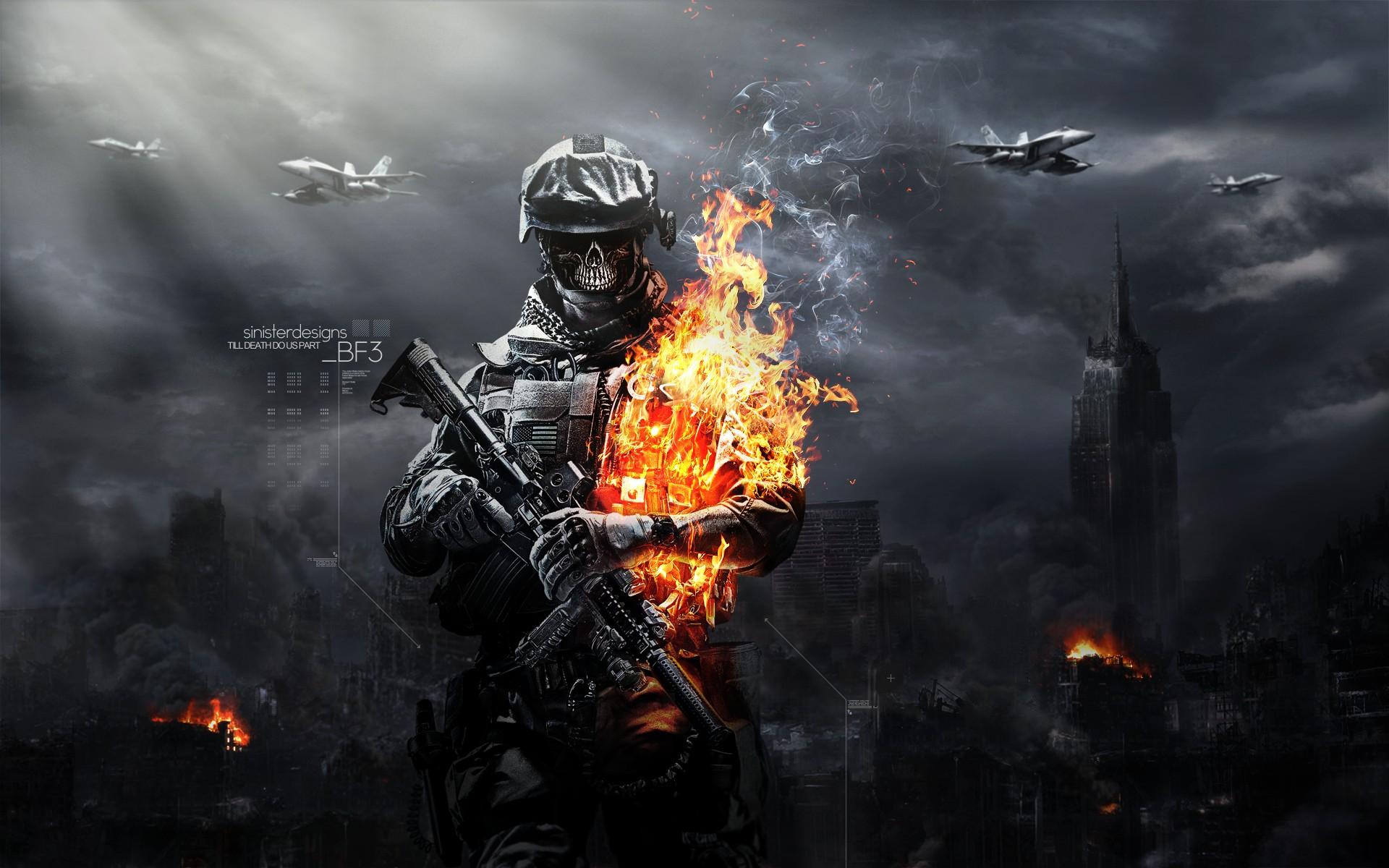 Battlefield 3 Zombie Mode Wallpapers HD Wallpapers 1920x1200