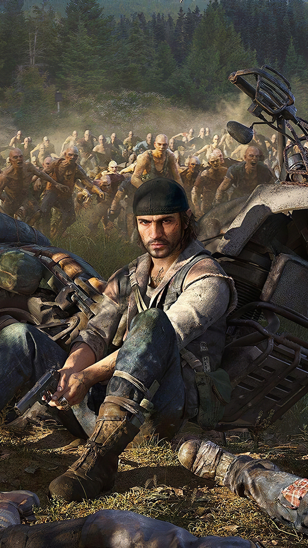 Days Gone Mobile Wallpaper iPhone Android Samsung Pixel Xiaomi 1080x1920