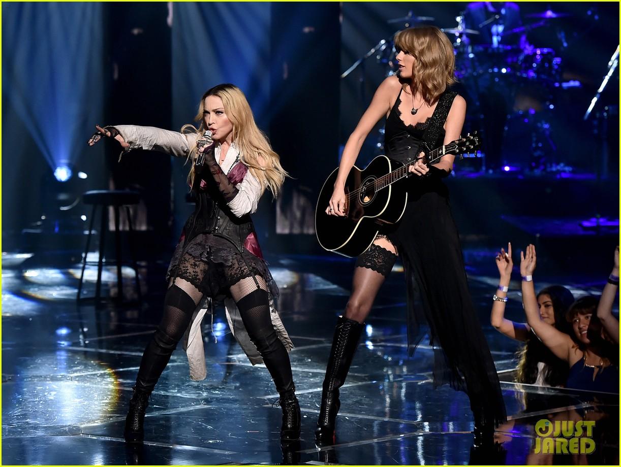 Madonna Taylor Swifts iHeartRadio Performance Video 1222x920