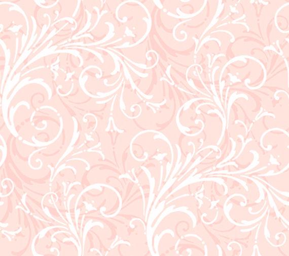 Light Pink Layered Scroll Wallpaper   Wall Sticker Outlet 570x506