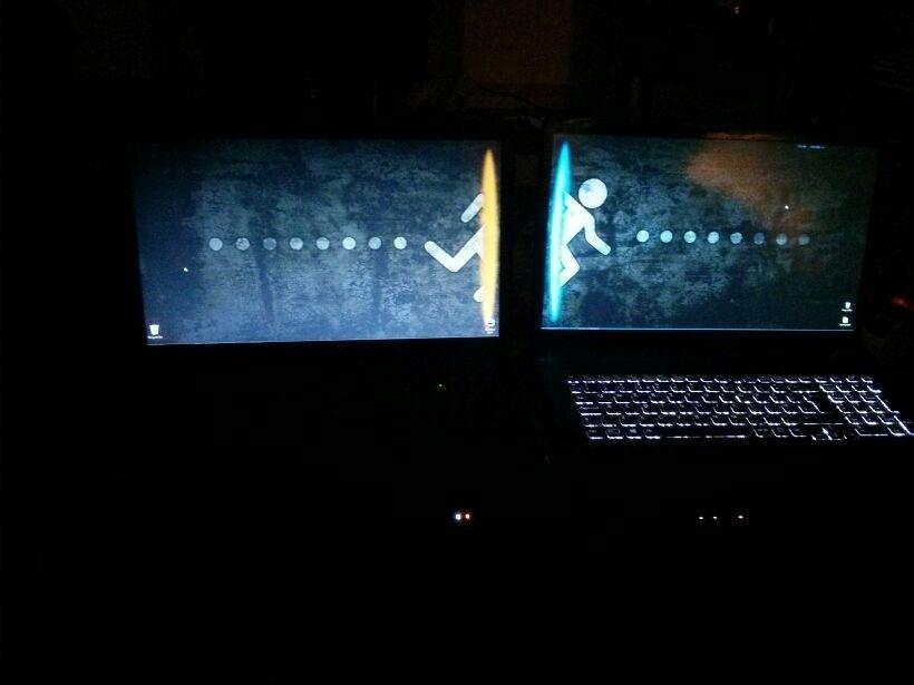 Portal 2 Wallpaper Dual Monitor I dont have dual screen but i 820x615