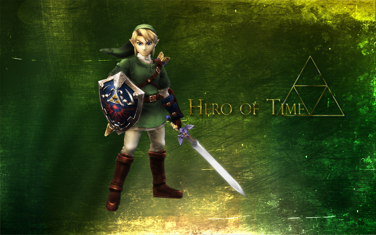 Hero of Time   Link Wallpaper by kurama805 1280x800