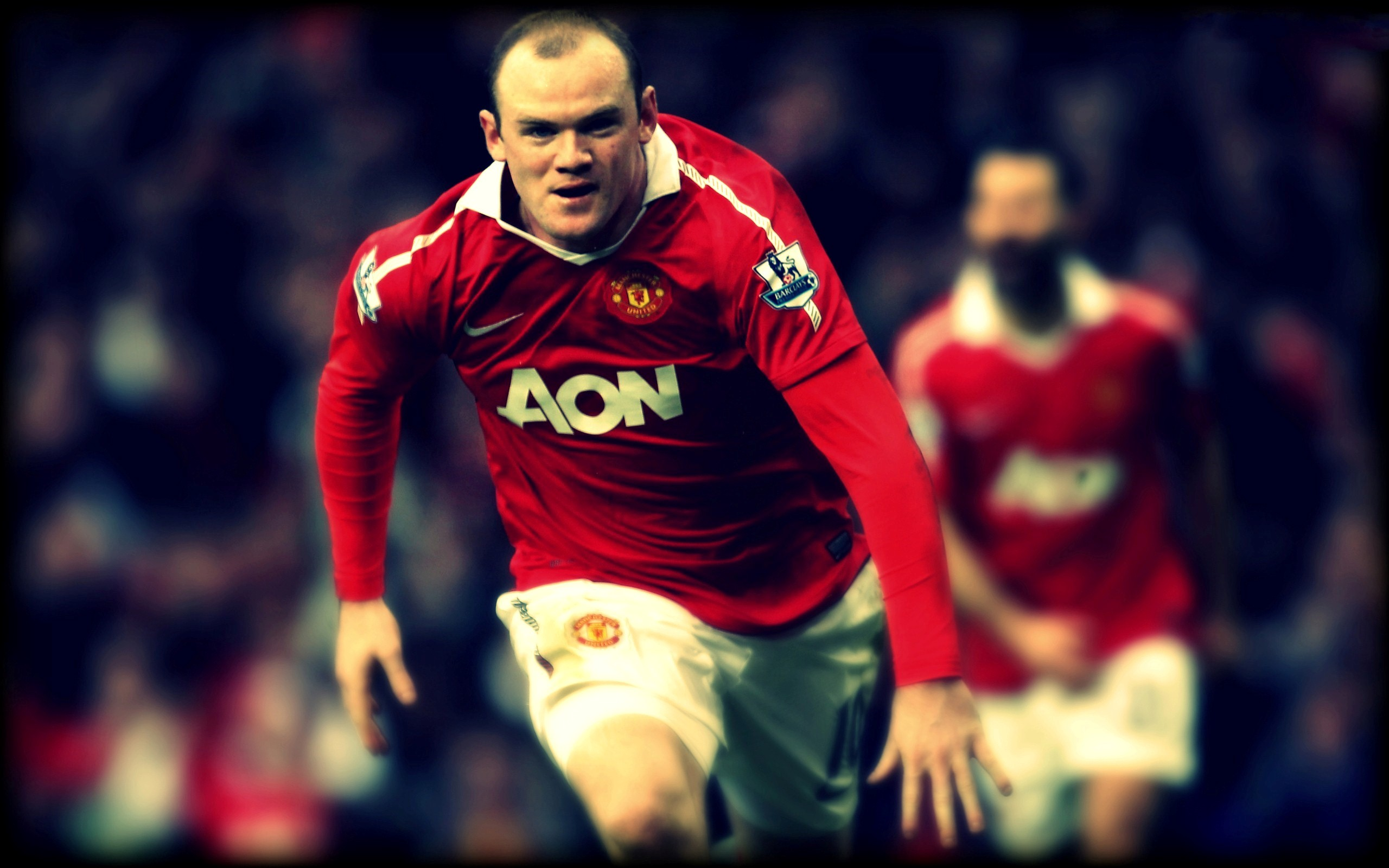 Wayne Rooney Football Player HD Wallpapers 2560x1600