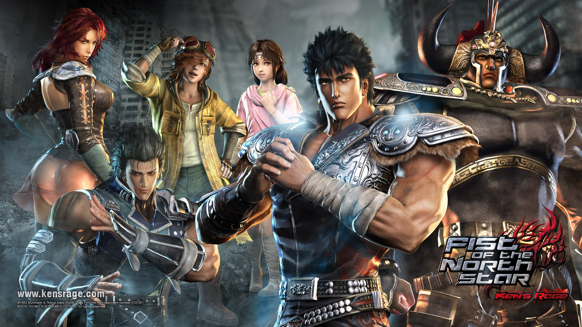 Free Download Fist Of The North Star Announced Mxdwn Games