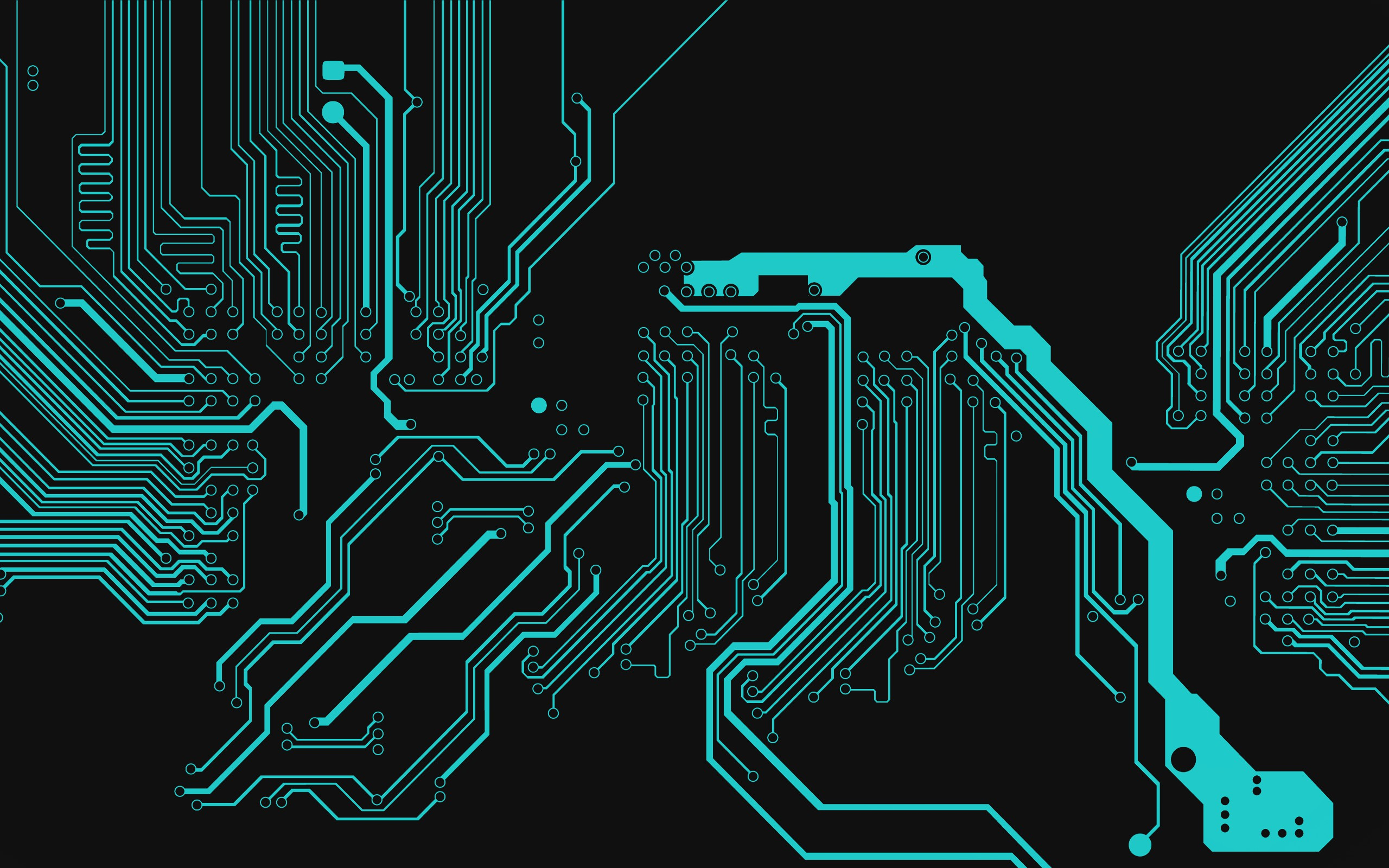 3d Circuits Computer Hd Wallpapers Download 2560x1600