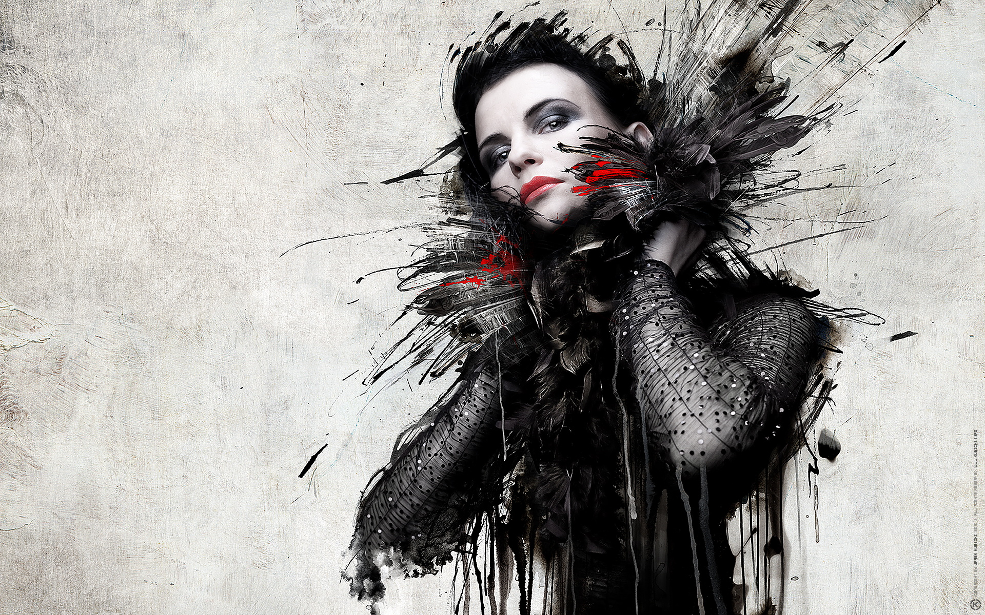 Fashion Wallpapers Ink Splattered Fashion HD Wallpapers 1920x1200
