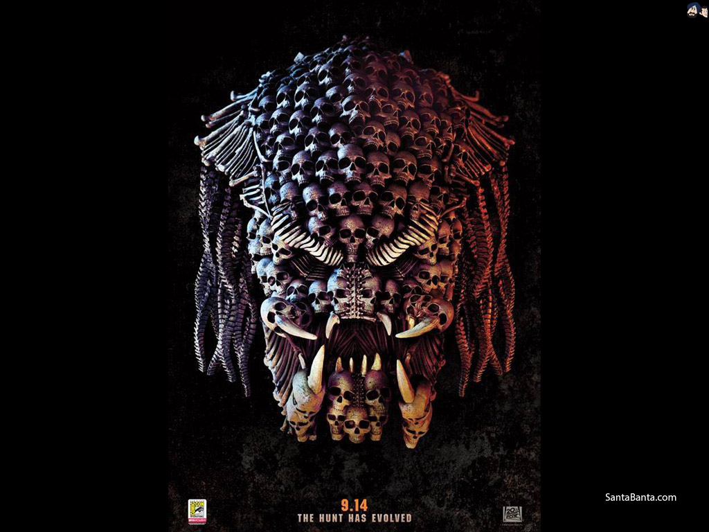 The Predator Movie Wallpaper 2 1024x768