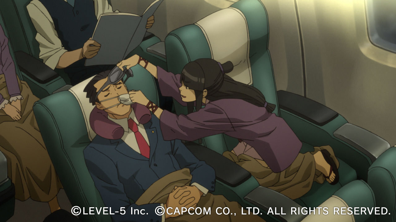 this professor layton vs phoenix wright wallpaper is available in 1280x720