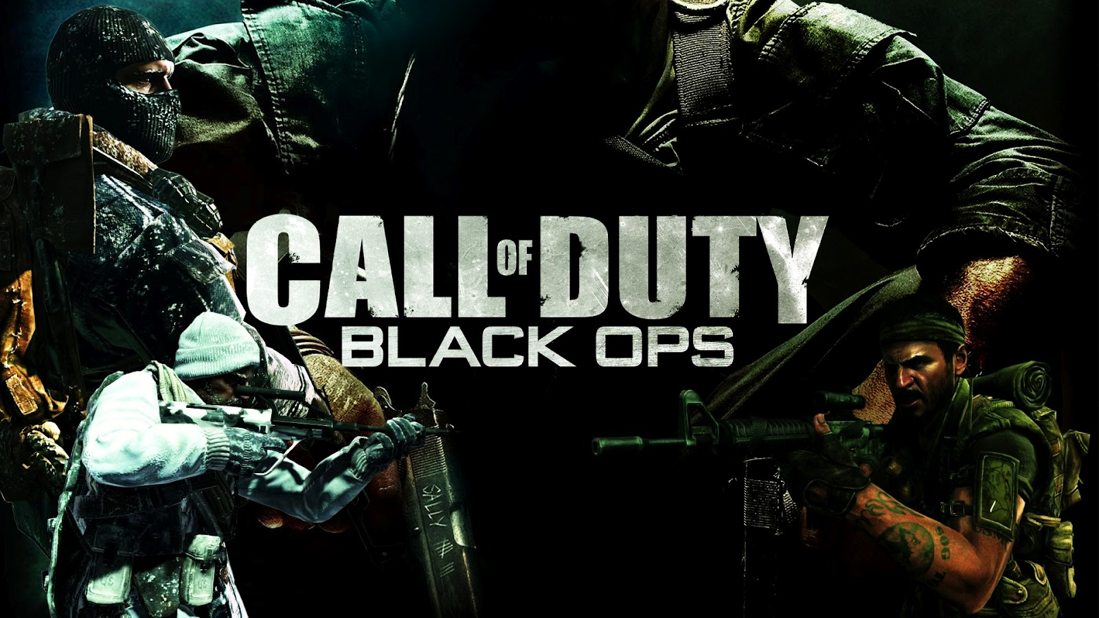 Games Wallpapers PACK 1 COD Black Ops 1600x900
