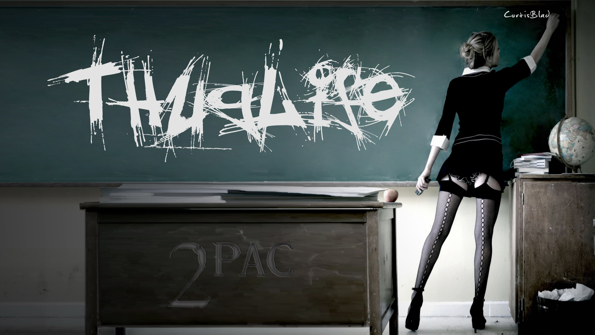 Thug life and favorite teacher by curtisblade 1920x1080