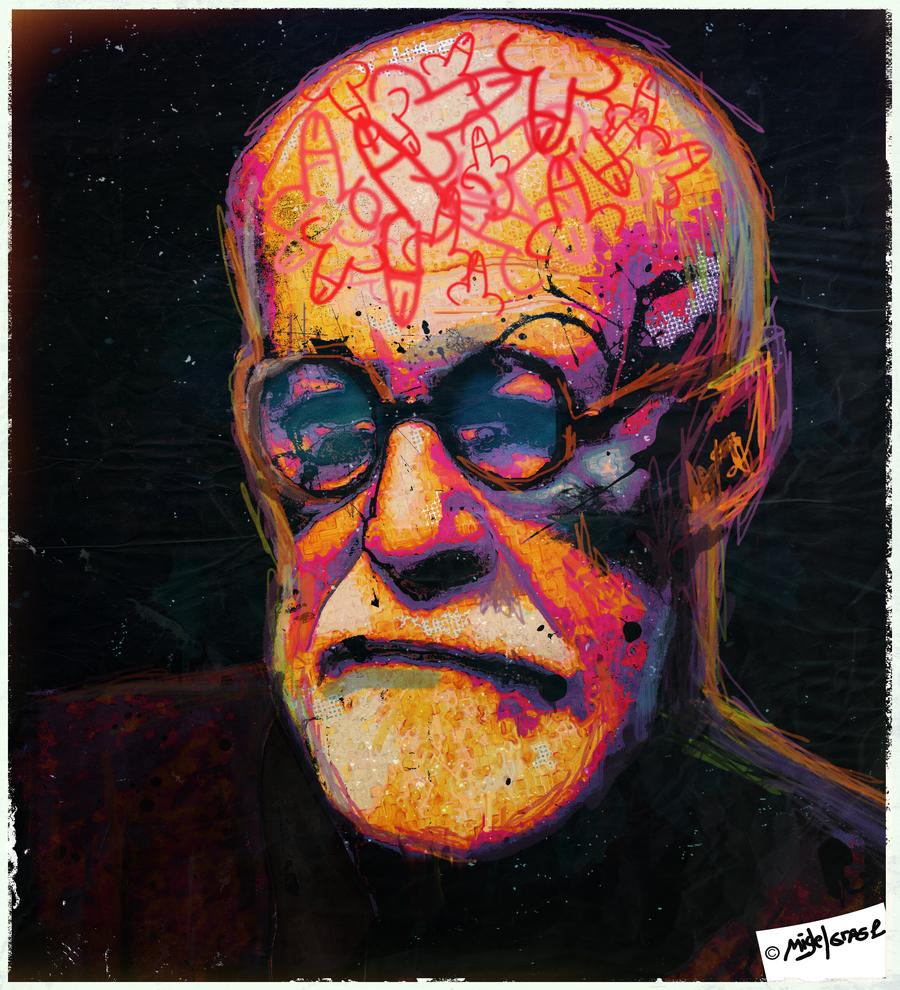 Freud who Died   Psychology Fan Art 33126732 900x990