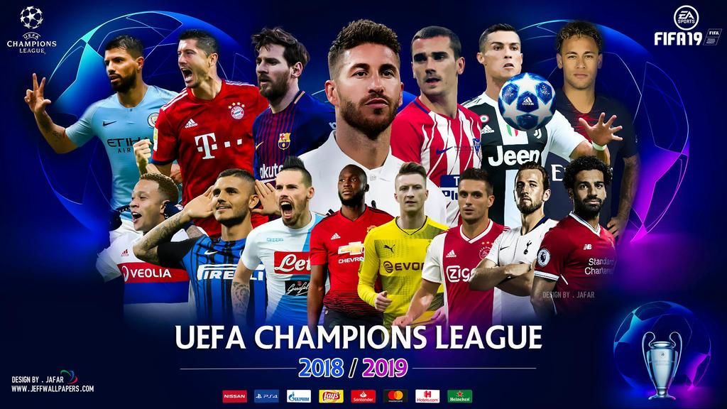 CHAMPIONS LEAGUE 2019 WALLPAPER by jafarjeef 1024x576