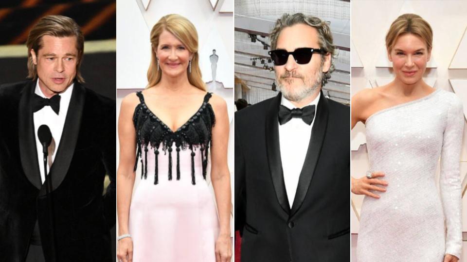 2020 Oscar Winners Are Here Parasite Joaquin Phoenix Brad Pitt 960x540