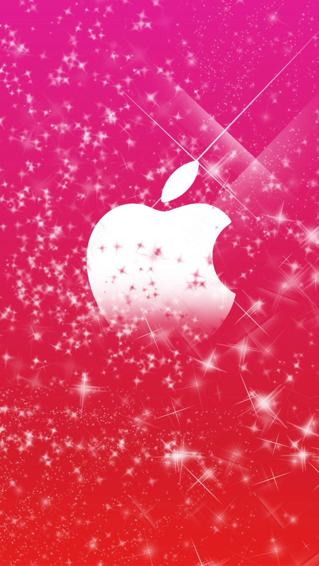 Sparkly Pink iPhone 5 Wallpaper Color   Glitter Sparkle Glow 640x1136