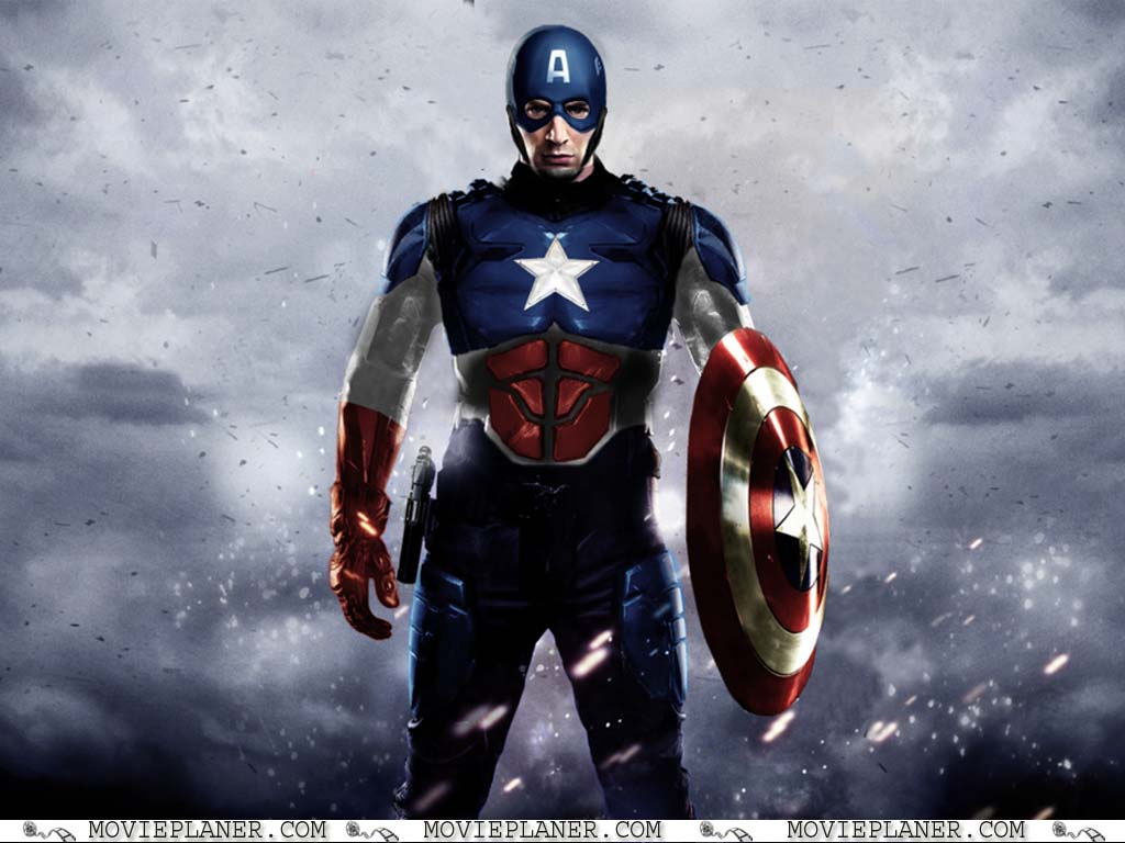 Captain America The Winter Soldier Wallpaper: Captain America Movie Wallpaper
