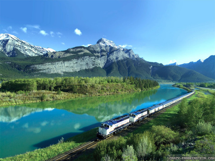 rocky mountaineer summer in canada wallpapers 1024x768   Most 700x525
